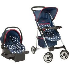 Cosco Commuter Compact Travel System, Star Spangled