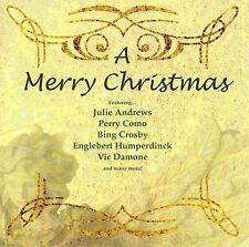 A Merry Christmas by Various Artists CD 2005 Sony Como Goulet Crosby Damone