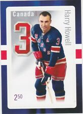 2014 CANADA POST STAMPS HARRY HOWELL ORIGNIAL SIX NEW YORK RANGERS FREE SHIPPING