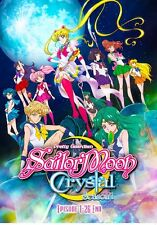 Pretty Guardian Sailor Moon Crystal Season 1 DVD(Chapter 1-26 End) - English Dub