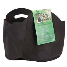 Smart Pot 10 Gallons w/ Handles - plant growing container black fabric. #10