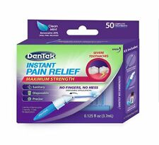 DenTek Adult Instant Pain Relief Kit, 50 ea