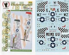 Eagle Strike Decals 1:48 Checkers Anyone P-51's 78 FG Part II #48200