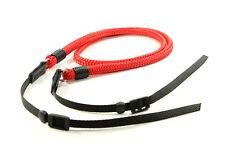 Lance Camera Straps DSLR Strap Cord Camera Strap - Red, 48in