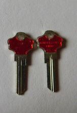 Kwikset Titan KW10  Key Blanks(2) Red By Hillman
