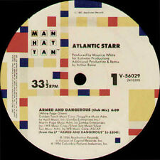 ATLANTIC STARR - Armed And Dangerous - Manhattan