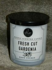 DW Home - Fresh Cut Gardenia - 1 wick hand poured candle small 4 oz size  NEW