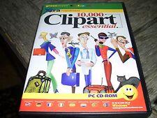 10,000 CLIP ART ESSENTIAL PC CD ROM