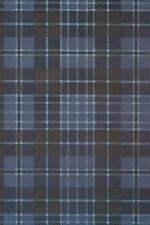 Clergy Blue Tartan Plaid Journal : Blank Notebook / Diary by I'm Really a...