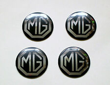 MG Midget Rostyle Wheel Centre Badges set of 4, MG part AHA8950B