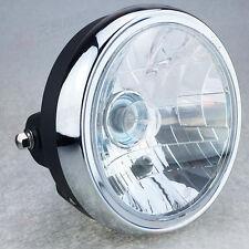 """Motorcycle Motorbike 7"""" Amber Headlight Headlamp Universal Hi&Lo Beam For SUZUKI"""