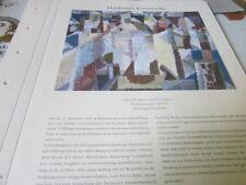 Archivio Amburgo 4 opere d'arte 4107 Eduard fecondare esercito città per SCIROCCO 1952