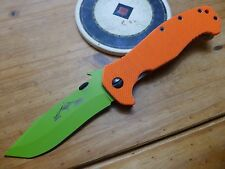 Emerson Knife CQC-15-Z - ZOMBIE - Orange G10 - ACTION CONCEPTS Limited Edition