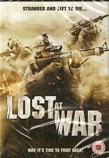 LOST AT WAR - Ted Prior, Johnny Ramoni, James Brinkley (NEW/SEALED DVD 2012)