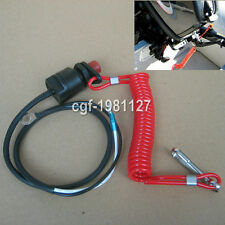 Outboard Engine/Motor Scooter ATV Kill Stop Switch & Safety Tether For Honda etc