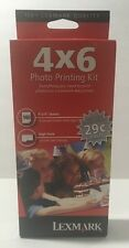 Lexmark Photo Printing Kit 35 Color High Yield Ink Cartridge + 140 4x6 Sheets