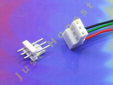 BUCHSENLEISTE+STECKER 3 polig / pins  HEADER 2.54mm + Male Connector PCB #A778