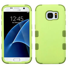 For Samsung Galaxy S7 / S7 EDGE IMPACT TUFF HYBRID Case Skin Phone Cover