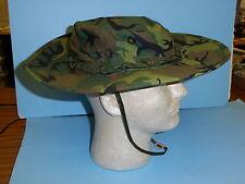 erdlh59   Vietnam Wide Brim ERDL Boonie Hat size 59 / 7 3/8