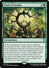 1x OATH OF DRUIDS - Rare - Commander - MTG - NM - Magic the Gathering