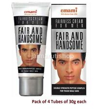 4x Emami Fair And Handsome fairness face Lightening cream for men whitening 30g