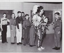 #MISC-0953 -  VINTAGE WISCONSIN BOY SCOUT 8x10 PHOTO #26 - INDIAN COSTUME