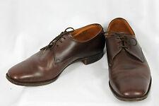 """Crockett & Jones """"Woodstock 2"""" Brown Leather Derby Dress Shoes UK-8.5FF US-9.5FF"""