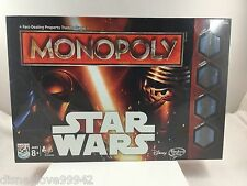 Star Wars The Force Awakens 2015 Edition Monopoly Game Sealed in Package