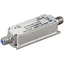 Sat inline amplificadores 20db antenas amplificador