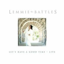 Lemmie Battles: Let's Have A Good Time-Live  Audio Cassette