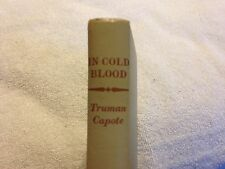 In Cold Blood Truman Capote First Edition Random House New York 1965 No DJ