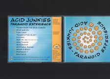 Acid Junkies - Paranoid Experience CD Album TECHNO HARD TRANCE ACID '94