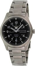 Seiko Men's 5 Automatic SNZG13K Black Stainless-Steel Automatic Watch