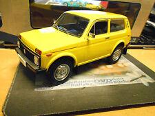 LADA Niva 4x4 Geländewagen Russia dunkelgelb 1976 gelb yellow NEU MCG 1:18