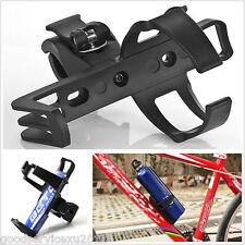 Portable Black Motorcycles Bikes Drink Cup Beverage Water Bottle Support Holder
