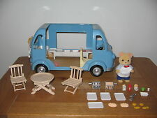 Sylvanian Families Fish And Chips van - Finlay Osborne & lots of accessories