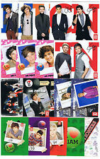 20 Panini One Direction 1D Insert/Sticker Lot Heartthrob,Spellbound,Take Me Home
