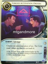 Android Netrunner LCG - 1x Forged Activation Orders #020 - Overdrive Runner Draf