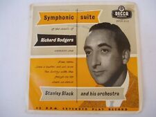 "STANLEY BLACK SYMPHONIC SUITE of Richard Rogers - 7"" 45"
