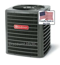 4 ton 13 SEER Goodman GSX13 central AC unit air conditioning Condenser GSX130481