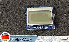 84x48 Pixel blau LCD Display Modul ähnlich Nokia 5110 für Arduino Raspberry Pi
