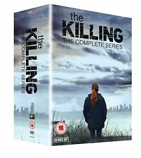 THE KILLING SEASONS 1-4 DVD BOX SET NEW SERIES 1 2 3 4 USA VERSION REGION 2