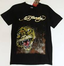 Ed Hardy Boys Black Short-sleeved Tiger Print T-Shirt (XL) NWT