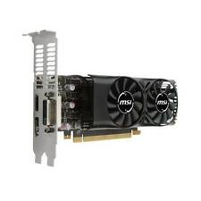 New MSI NVIDIA GeForce GTX 1050 TI 4GB GDDR5 DVI/HDMI/DisplayPort Low Profile