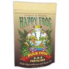 Fox Farm Happy Frog Bulb Food 4 lb Pound - fertilizer nutrient mycorrhizae