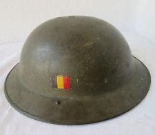 WWII Belgian  Helmet - Belgium European Europe Military