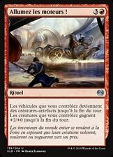 MTG Magic KLD FOIL - Start Your Engines/Allumez les moteurs !, French/VF