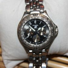 Mens FOSSIL  Blue Diver Style All Stainless F79/E