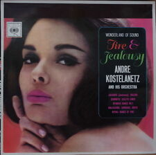 ANDRE KOSTELANETZ AND HIS ORCHESTRA CHEESECAKE COVER US PRESS LP