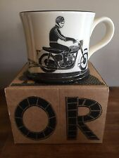 NEW Moorland Pottery Born To Ride mug - Gift Boxed